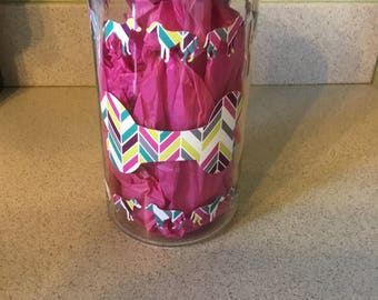 Multi Colored Treat Jar