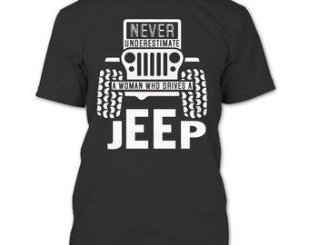 Never Underestimate T Shirt, A Woman T Shirt