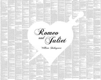 Romeo and Juliet Book Poster