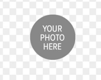 Custom photo  keychain