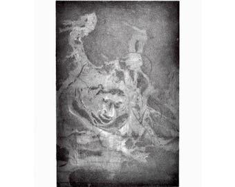 "8x11"" Intaglio Print ""VICE,"" 2017"