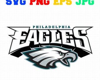 Philadelphia Eagles Logo Svg Eps Png Jpg Cut Vector File Silhouette Cameo Cricut Design Vinyl Decal