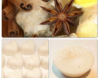 3 country spice scented soy wax melts, strong long lasting melts, cheap wax melts, scented gifts for her