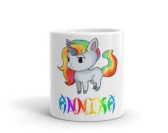 Annika Unicorn Mug