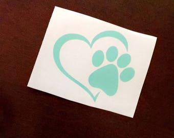 Dog Love Decal