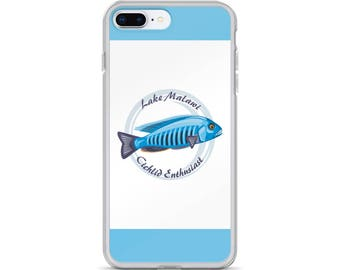 Aquarium Fish Lover's iPhone Case - Gift for Cichlid Lovers - Lake Malawi Cichlid Enthusiast