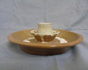 Nympton Pottery chamber stick