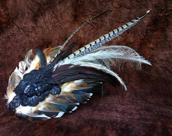 Fancy Feather Fascinator