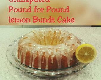 "Undisputed- Lemon ""Pound-for-Pound"" Cake"