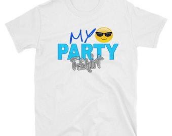 My Party Emoji T-Shirt