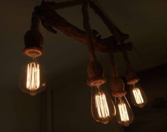 hand-made chandelier
