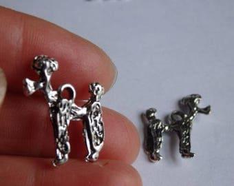 10 poodle dog charms Dalmatians Tibetan silver antique pendant wholesale AM113