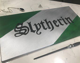 Harry Potter Slytherin House Sign