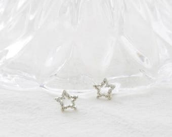 chain star earring