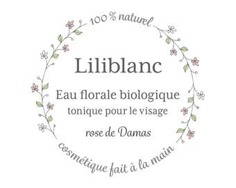 Organic floral water - pink damask