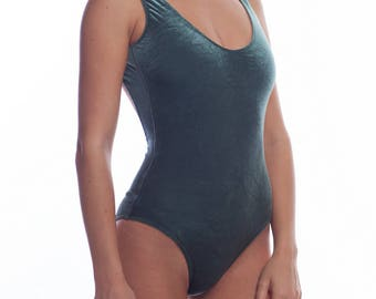 Velvet swimsuit by KUPAKA_swimwear
