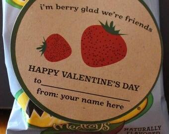 Berry Valentine Sticker