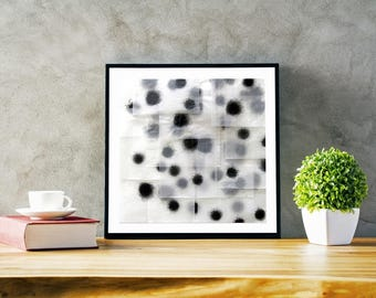 Modern abstract print, wall art, fine art paper or stretched canvas
