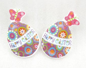 Easter Resins Flatbacks Hair Bows