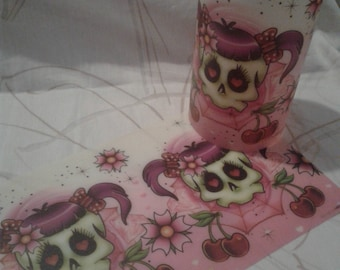 Cubrevelas-Candlecover Tatoo 2 varied pack of 10