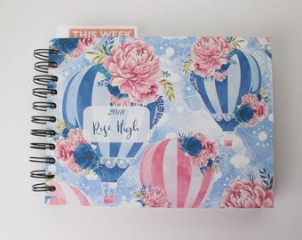Free weekly planner , DO NOT add this to cart, see details.  //// FP100//// 2018 planner, 2018 weekly planner