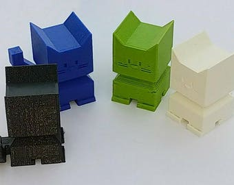 Neko | Cat | cat lover gift | gift | girl friend | gift | for her | desktop | pet | 3D printed | Cute Cat | Little Cat