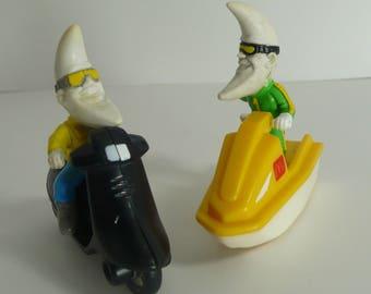 Recreational McDonald's Mac Tonight - SkiDo, Skooter Happy Meal Toys 1988