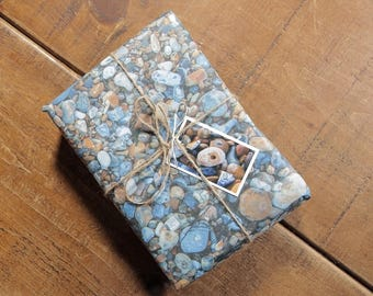 Pebbles Eco Wrapping Paper and Gift Tag