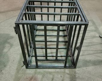 Handmade Steel BDSM Cage - Made to order