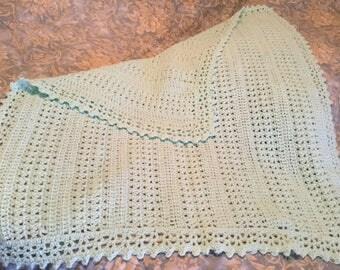 Crochet baby blanket for boy or girl