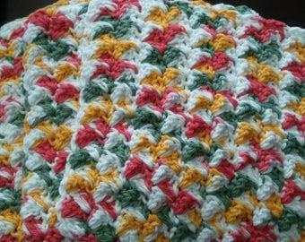 crochet dishcloth set of 4