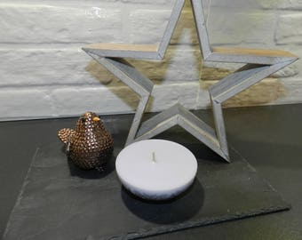 Half sphere candle