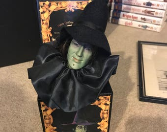 1988 50th Anniversary Wizard of Oz Wicked Witch Jack in The Box