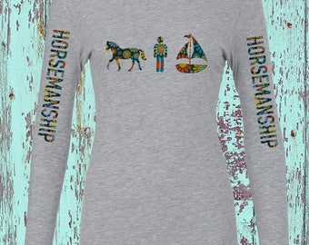 Horsemanship Womens L/S Tee