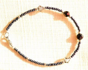 Black and grey bracelet