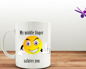 Finger Becher | Valentinstag Becher | Erwachsenen Humor | Geschenk Für Sie  | Lustige