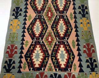 006621 Oriental Kilim Turkish 8'x5'5""