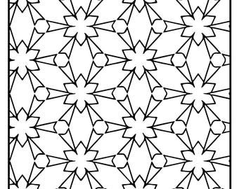 Wackadoodle Coloring Rectangles #103
