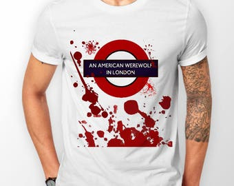 T-shirt inspired by An American Werewolf in London