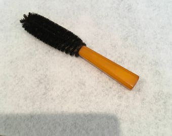 Bakelite Butterscotch Coat Brush
