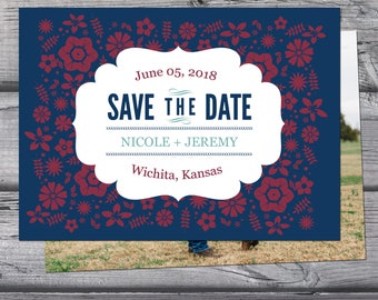 Save the Date Announcement, Save the Date Magnet, Save the Date Postcard