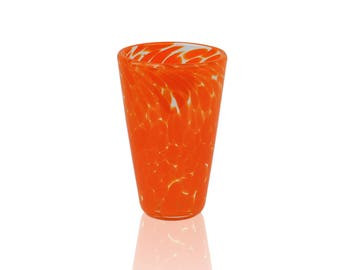 Glass Drinkware- Pumpkin