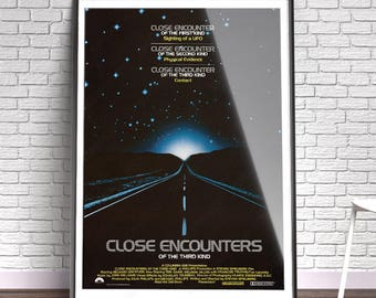 Close Encounters Of The Third Kind - Film, Movie, Poster