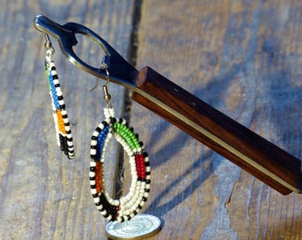 Masai Beaded Earrings