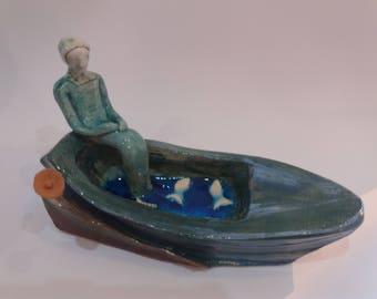 Ceramic Boat