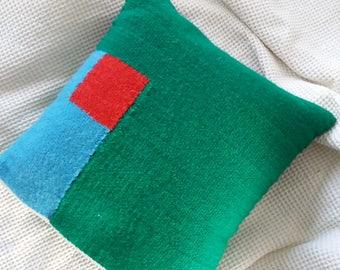 Small Handwoven cushion