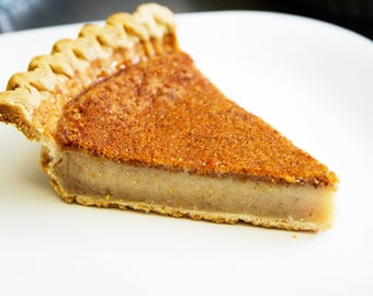 Original Bean Pie- Specialty Desserts- Bean Pie - Islamic food- Desserts, Homemade desserts