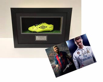 Football Boot Frame display case