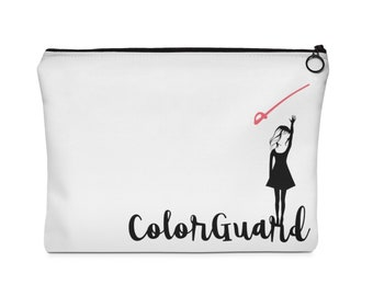 Colorguard Sabre Carry All Pouch - Flat Two Sizes, Color guard, Percussion, Winterguard, winter guard