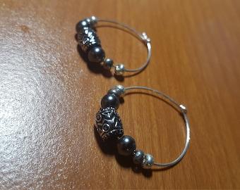 Ocean Rings/ Casual Hoop Earrings